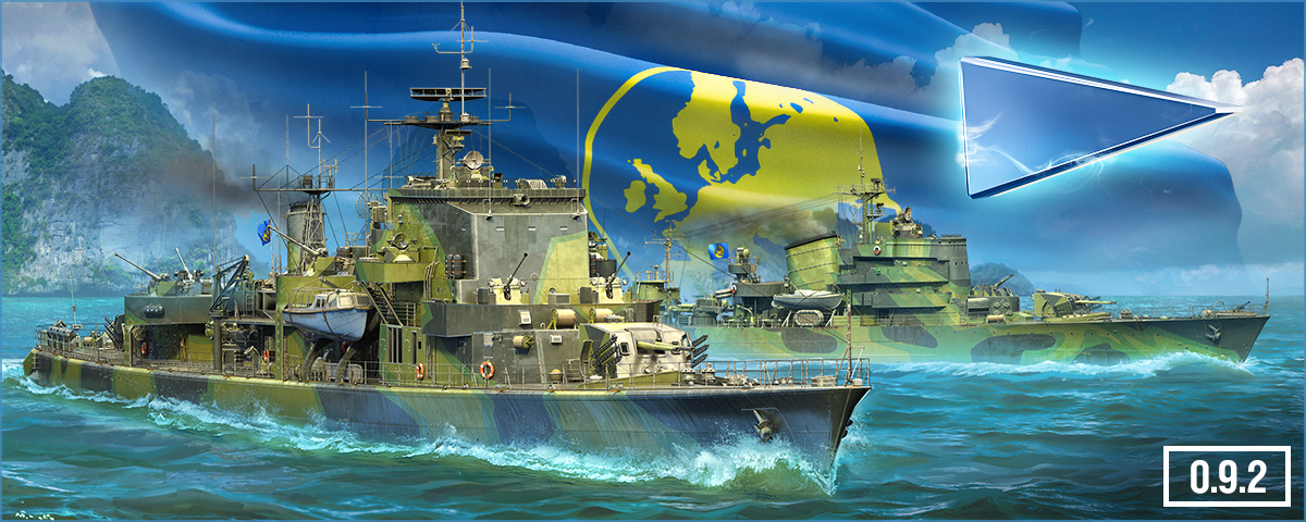 Update 0 9 2 European Destroyers Part 1 World Of Warships